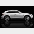 Nuova   Infiniti   FX  Black   and   White  Edition