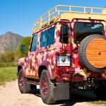 "LAND ROVER DEFENDER ""VINEYARD�"