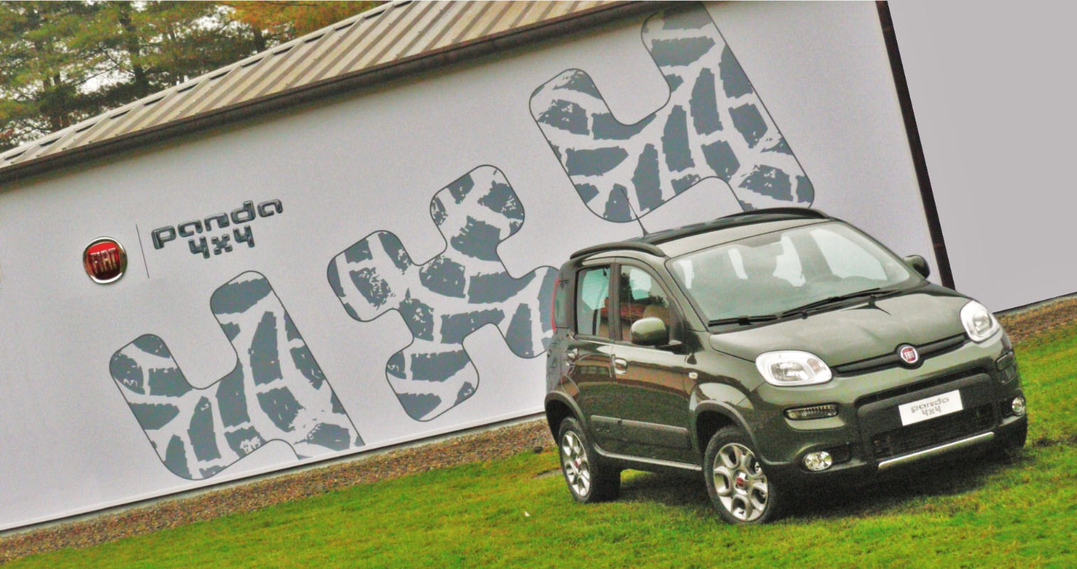 Fiat  Panda  si  fa  in  quattro:  4x4,  Trekking ,  Natural Power  ed  EasyPower