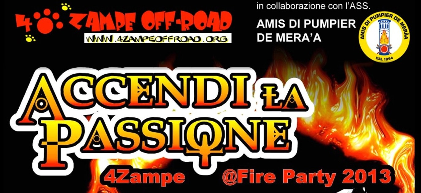 Raduno 4 Zampe @ Fire Party 2013