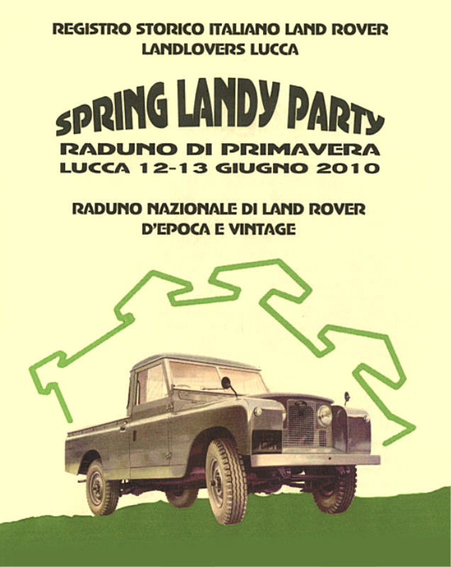 SPRING LANDY PARTY by LAND LOVERS LUCCA