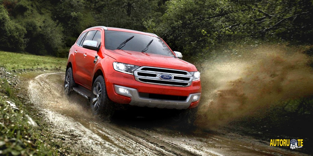 Nuovo Ford Everest (Guangzhou 2015)