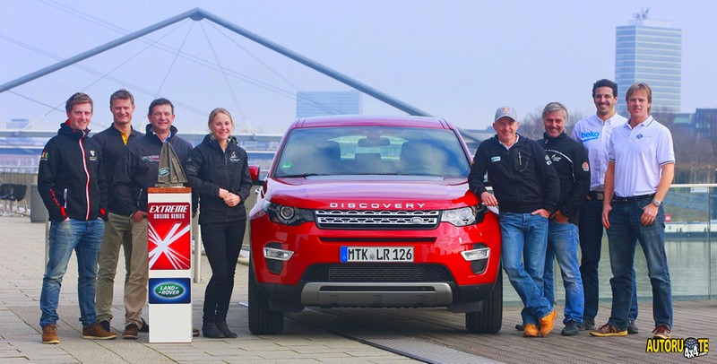 Land Rover Above and Beyond Award 2014