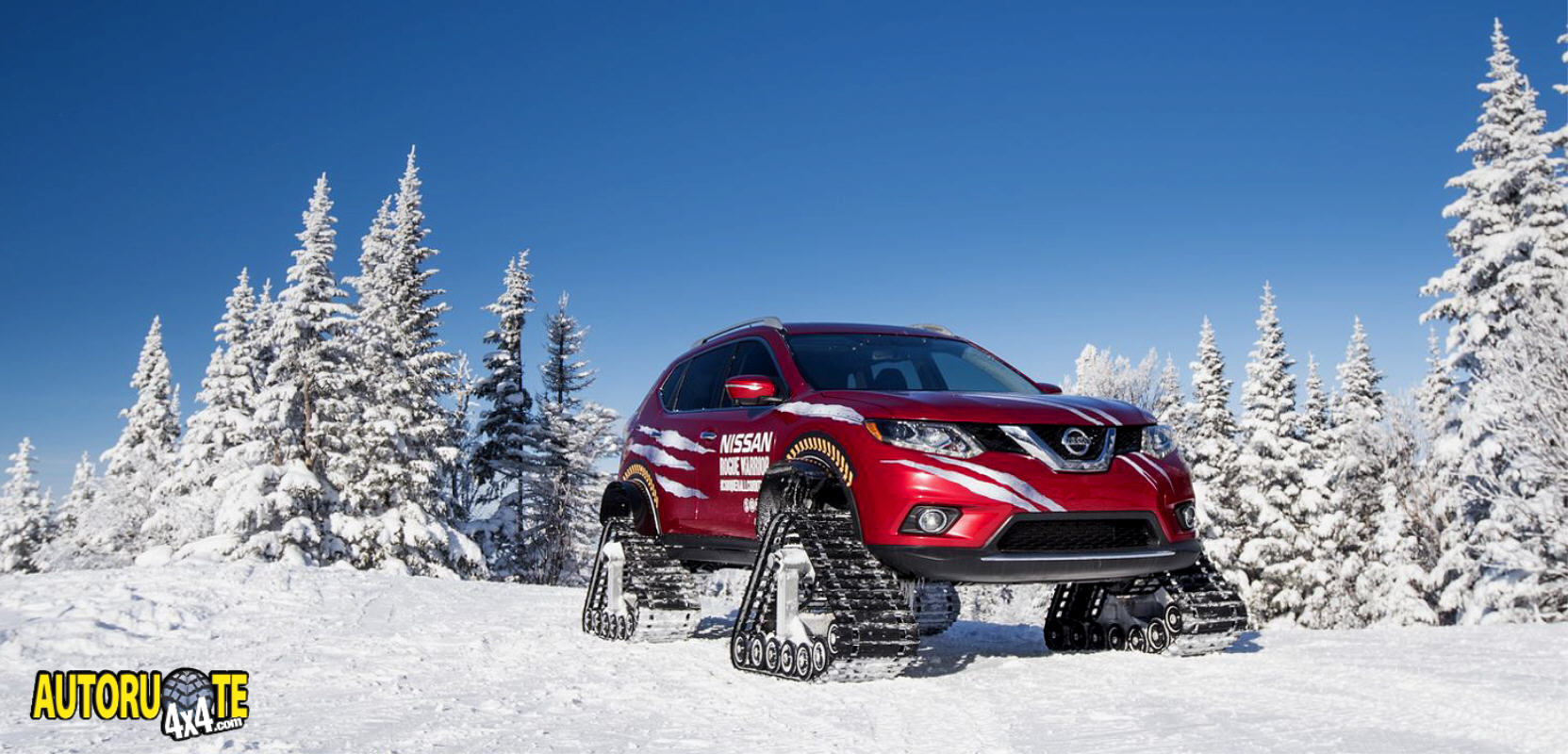 Nissan Rogue Warrior Concept Snow Tracks (2016)