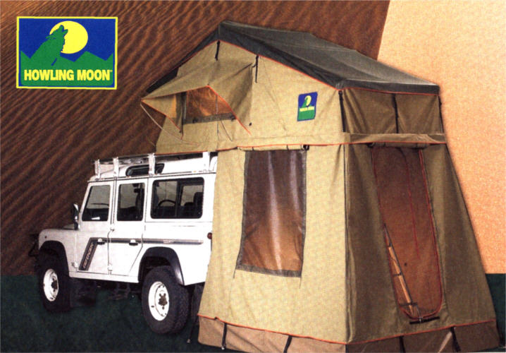 Tenda tetto defender