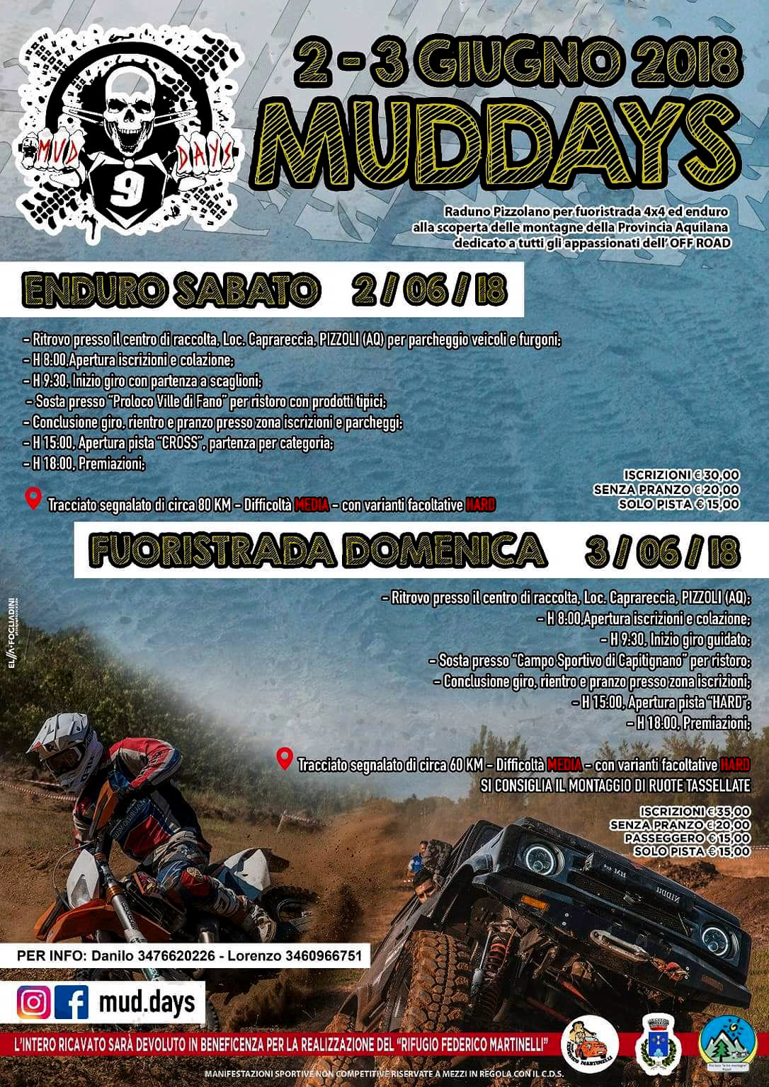 """MUD DAYS 2018"" by Team Federico Martinelli"