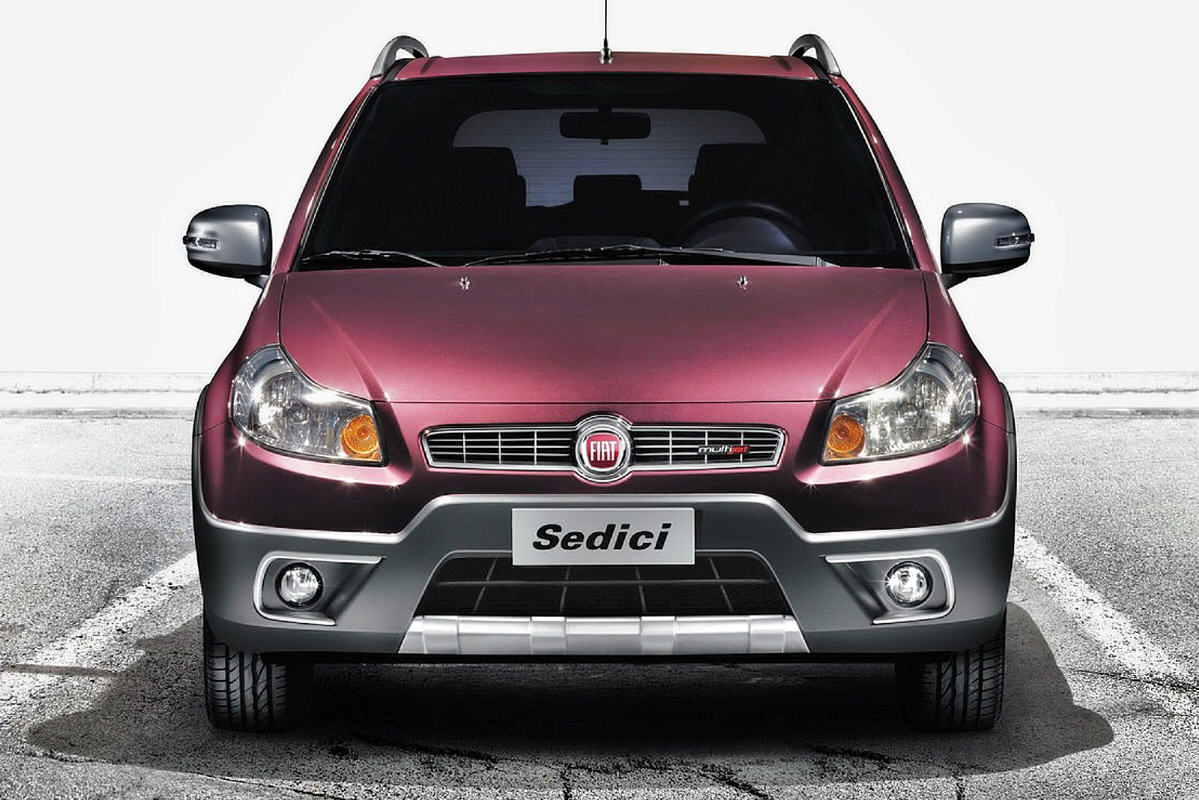 Fiat Sedici Model Year 2012