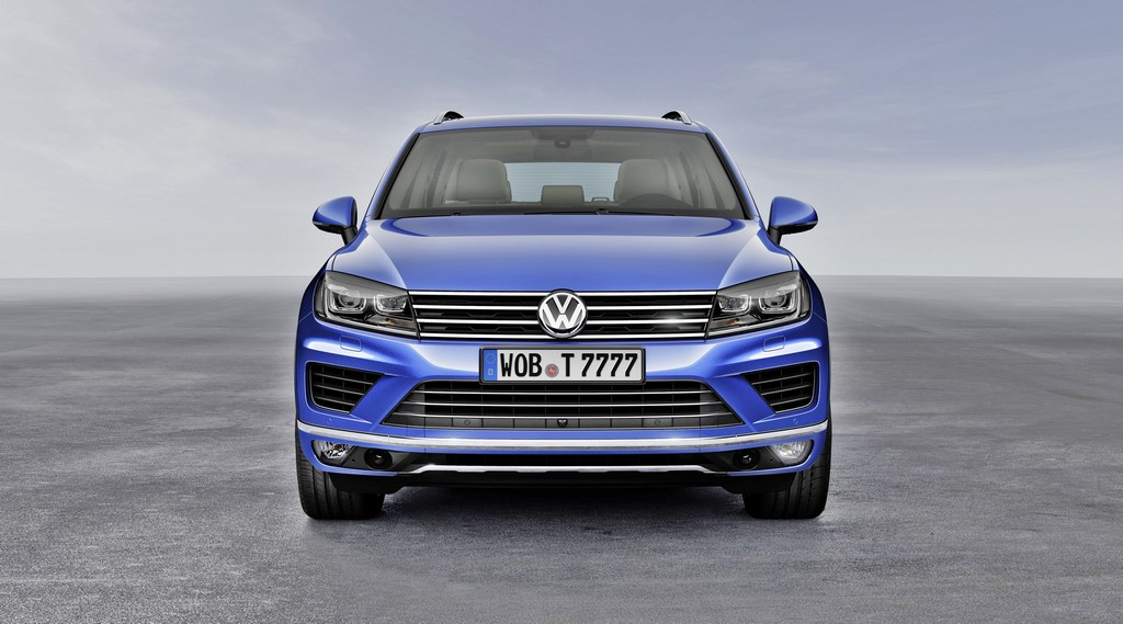 Nuova VW Touareg MY 2014 (Salone di Pechino)