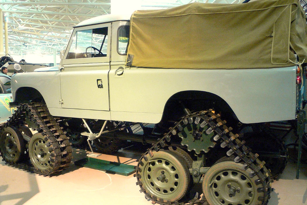 LAND ROVER CUTHBERTSONS CONVERSION