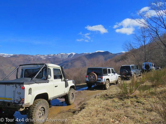 Tour 4x4 Ciocco 2018 by drivEvent Adventure