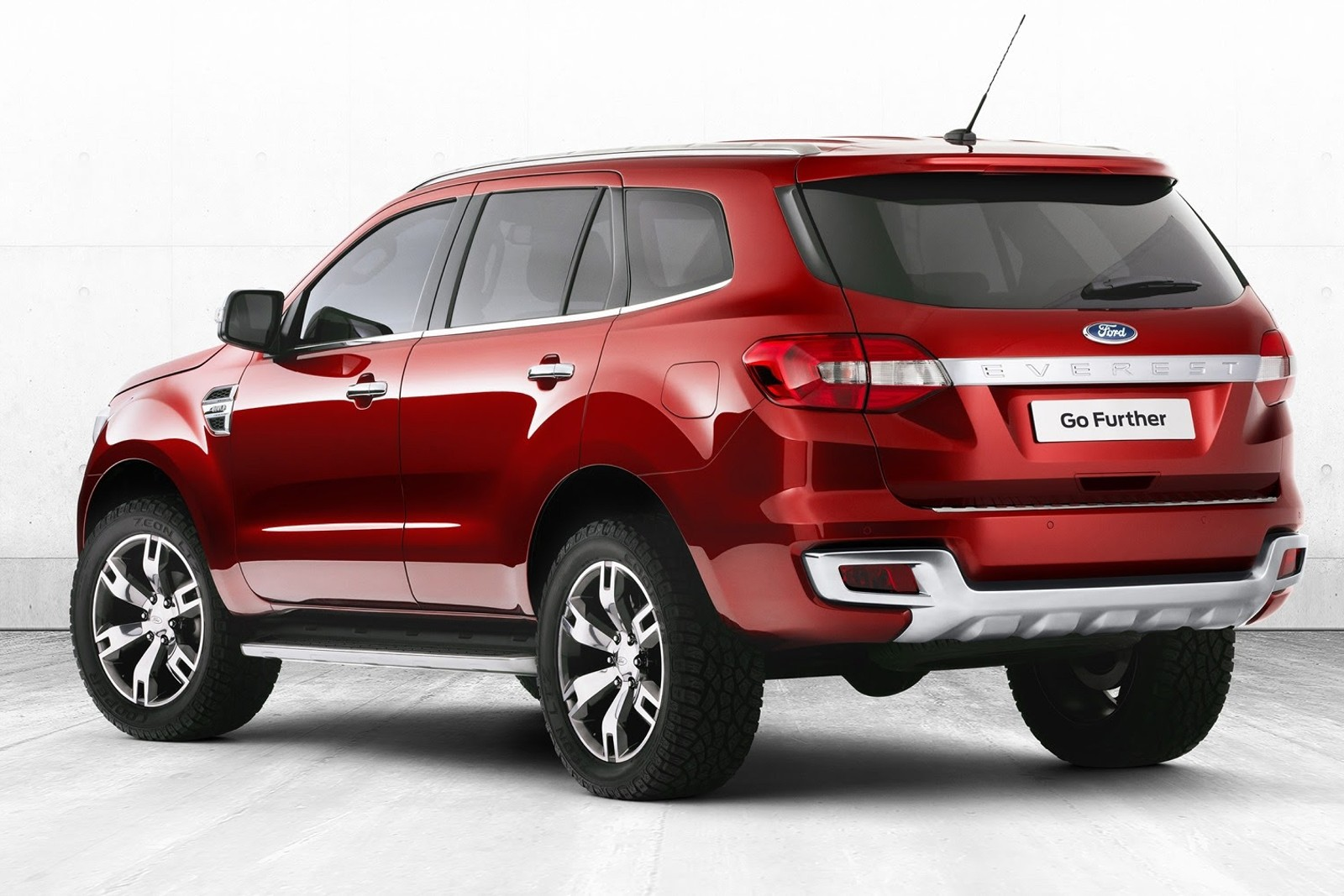 Ford Everest SUV Concept MY 2015