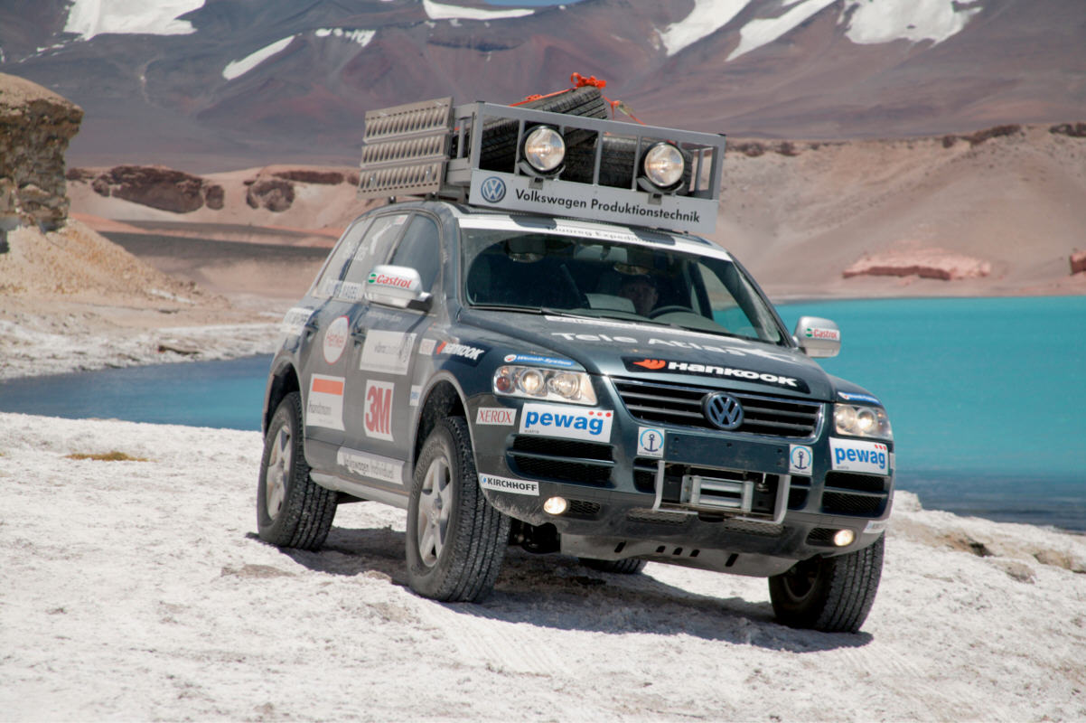 VOLKSWAGEN TOUAREG WORLD RECORD (2005)