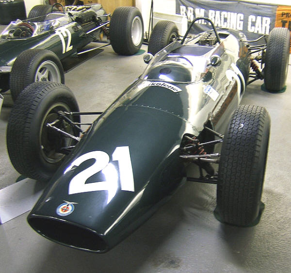 F1 BRM P67 4WD