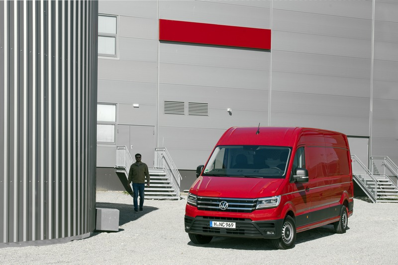 Nuovo Volkswagen Crafter 4MOTION