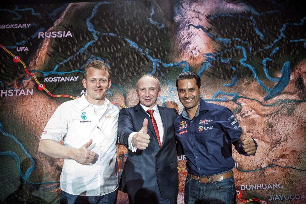 Silk Way Rally 2017: Conferenza stampa a Mosca