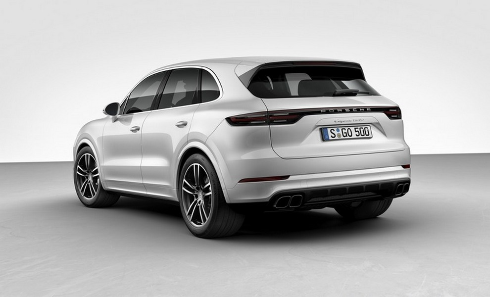 Porsche Cayenne Turbo MY 2018 (Salone di Francoforte)