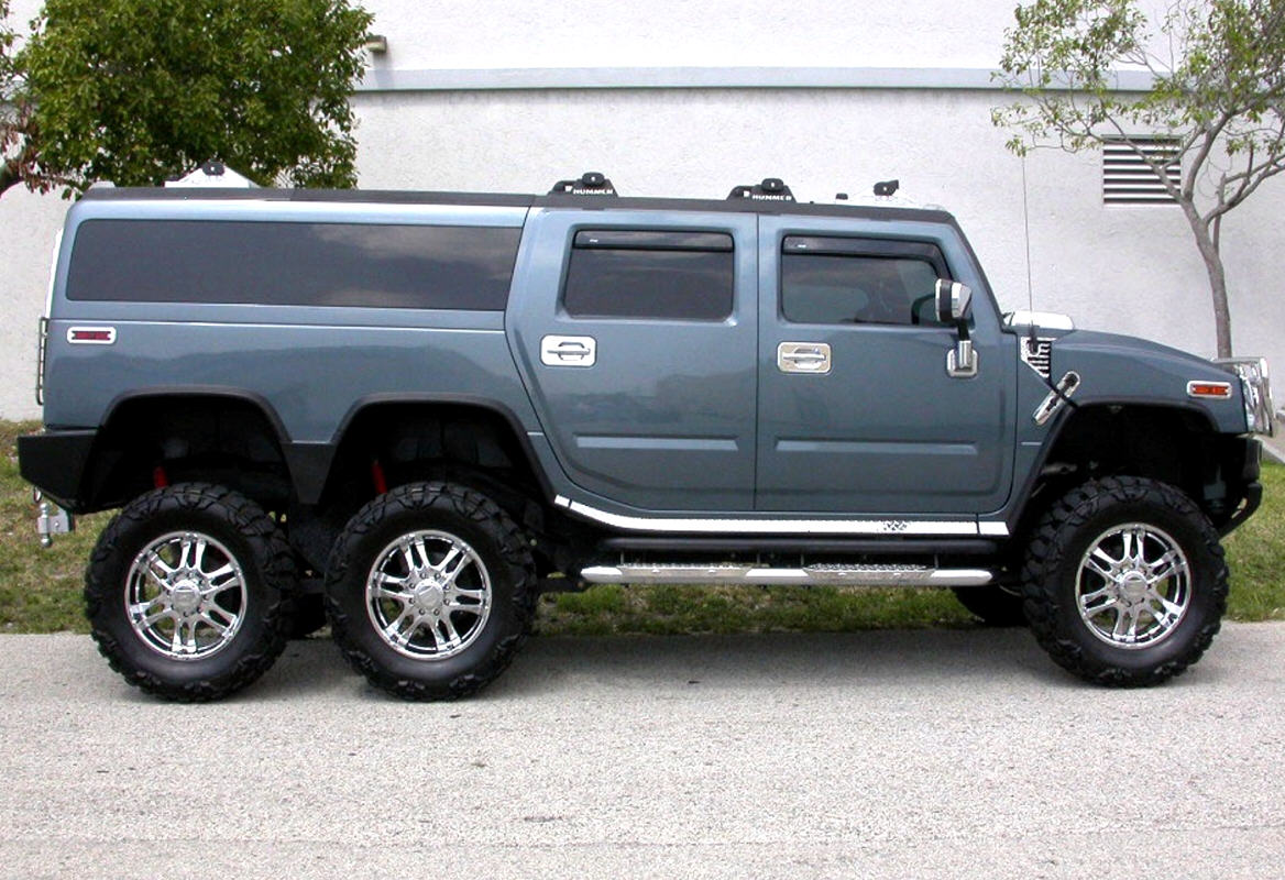 HUMMER H2 6x6 PLAYERS EDITION