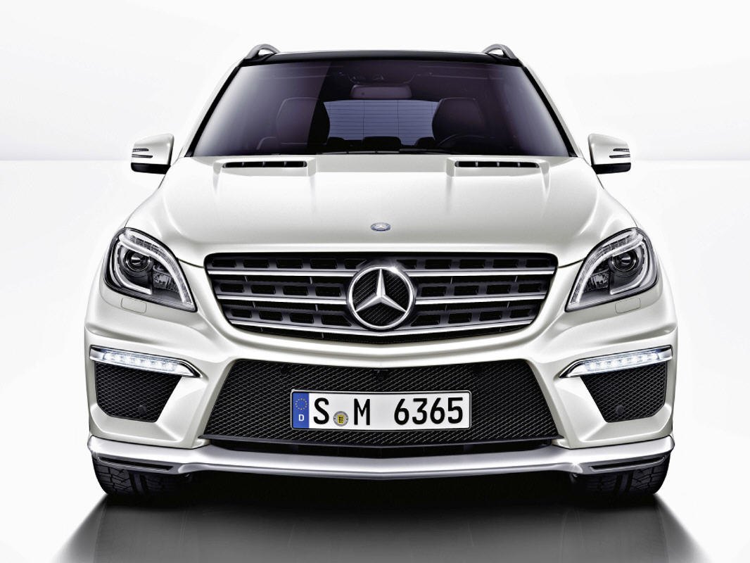 Nuova Mercedes-Benz ML 63  V8 AMG