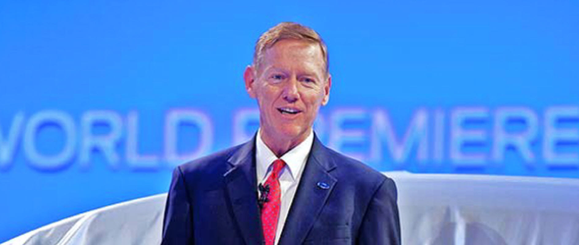 Alan Mulally, Presidente e CEO di Ford Motor Company