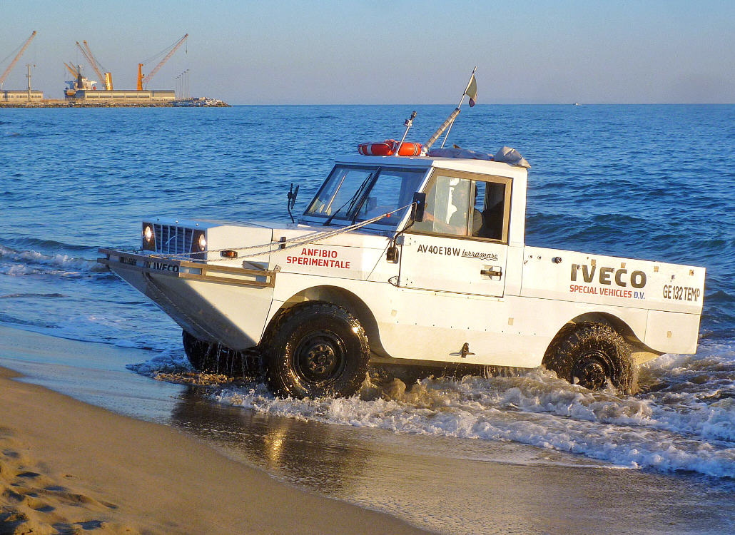 Off-Road & Off-Shore by Iveco 4x4 Terramare