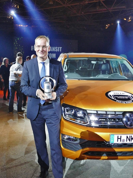 VW Amarok vince l'International Pick-Up Award 2018
