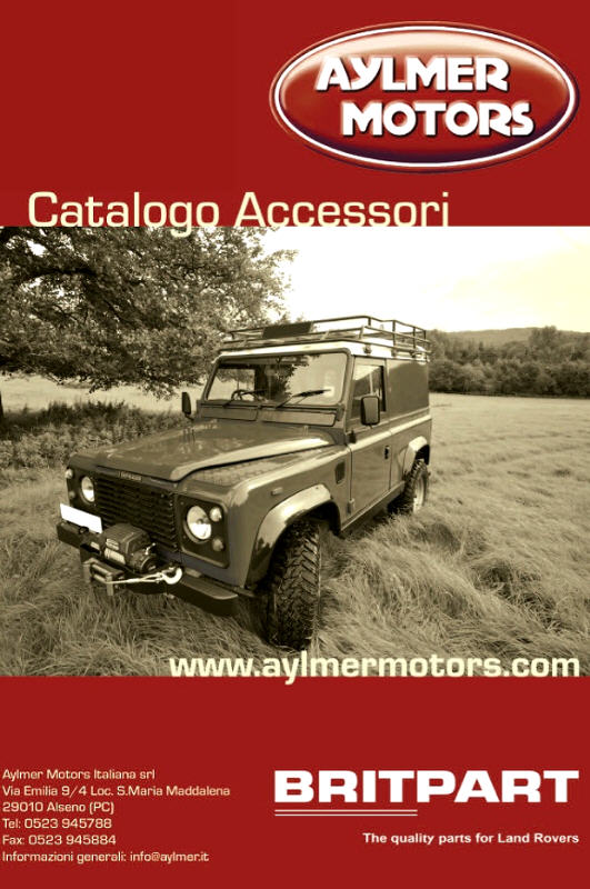 CATALOGO AYLMER MOTORS