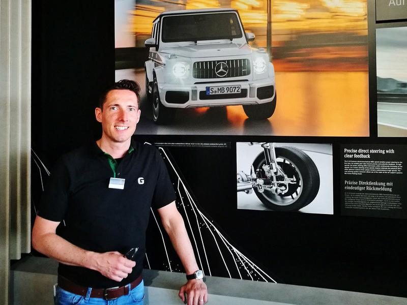Ian Hadley James - Marketing G-Class