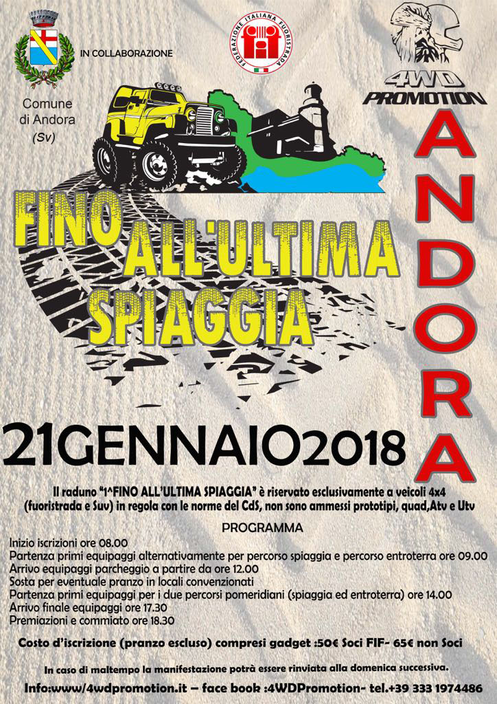 """Fino all'ultima spiaggia"" by 4WD PROMOTION"
