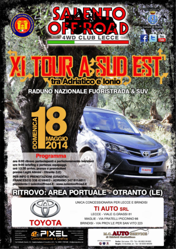 XI Tour a Sud-Est by Club Salento Off-Road
