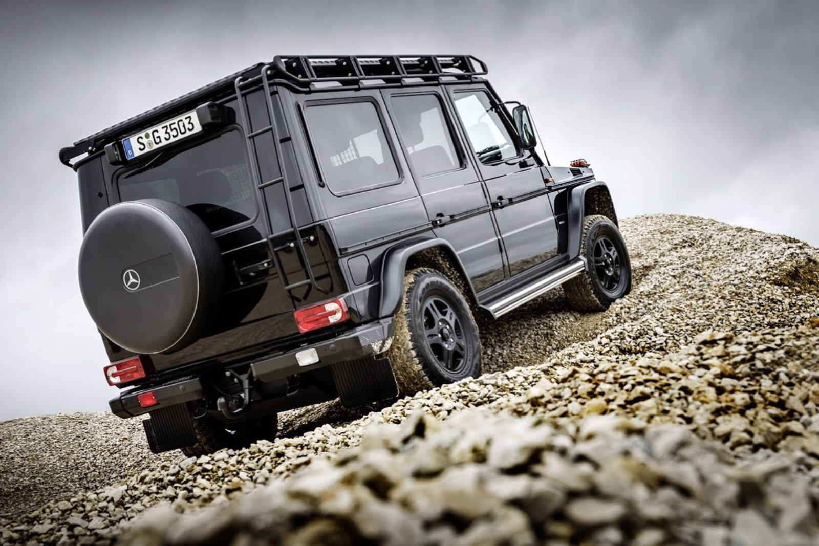 Mercedes-Benz G350d Professional Model Year 2017