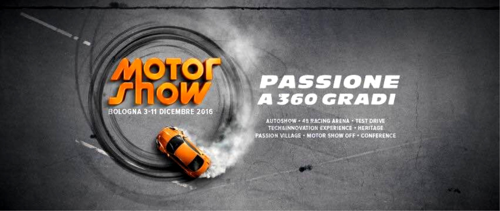 Motor Show 2016: Apertura del ticketing on line