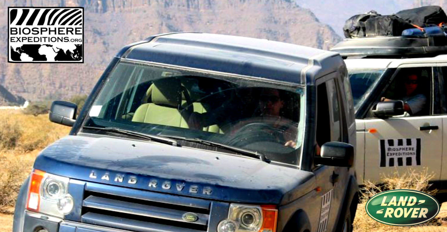 LAND ROVER: in Namibia con Biosphere Expeditions