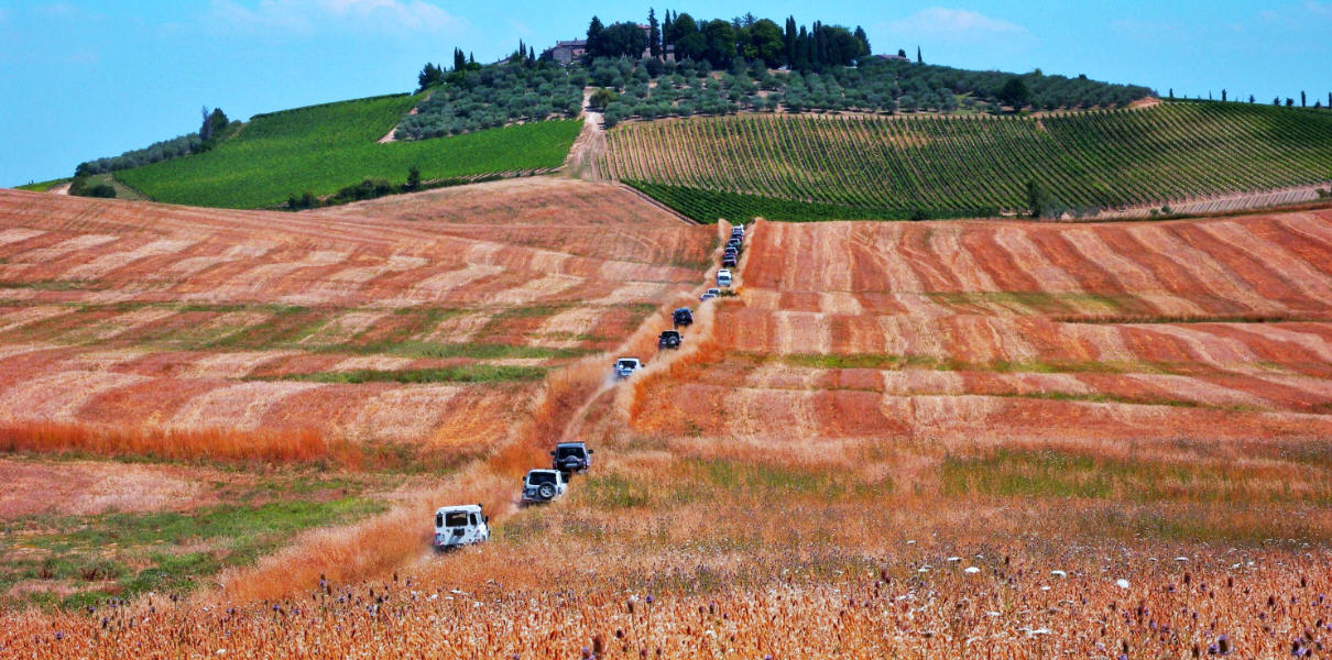 A Spasso nel Chianti by Pajero World Club Italia