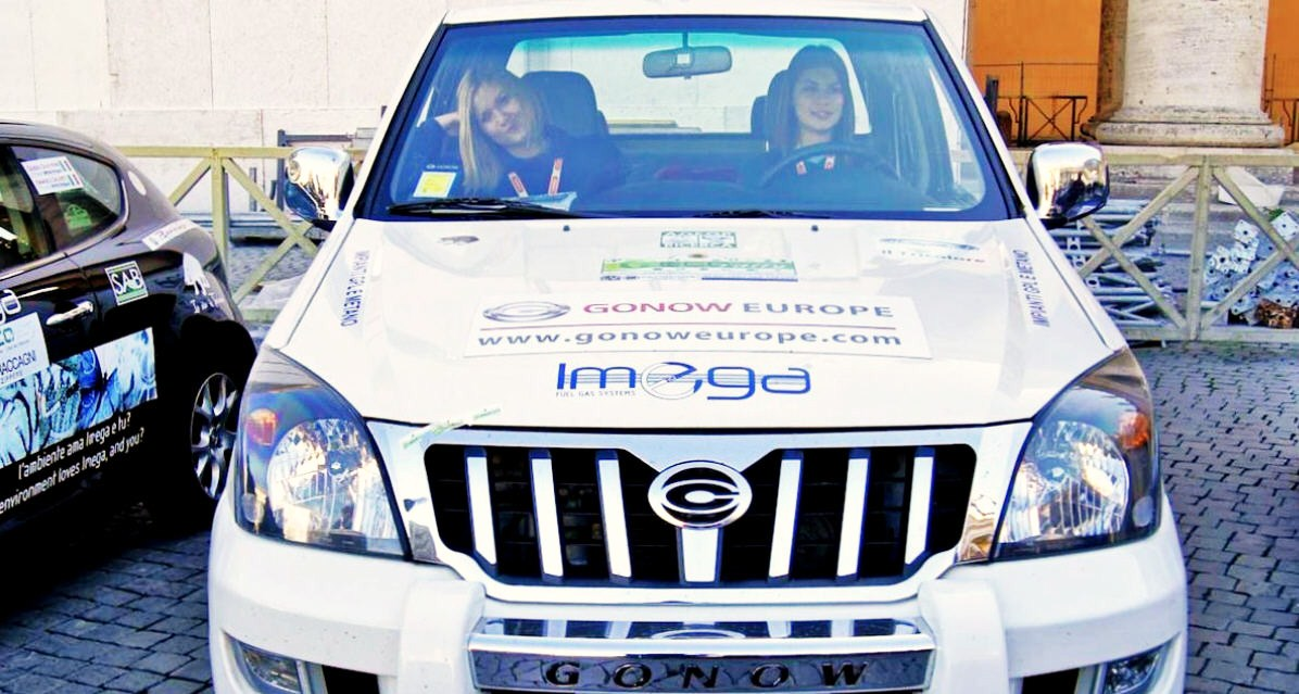 Gonow protagonista all'Eco Rally