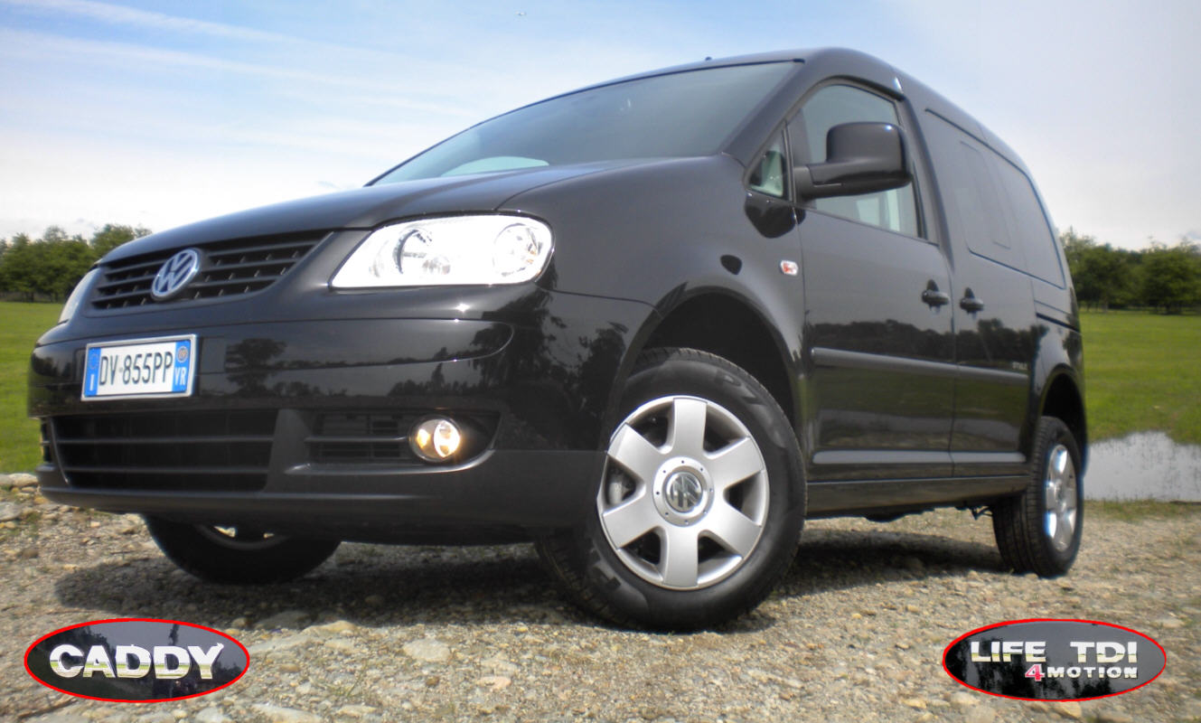 volkswagen caddy life style 1 9 tdi dpf 4motion. Black Bedroom Furniture Sets. Home Design Ideas
