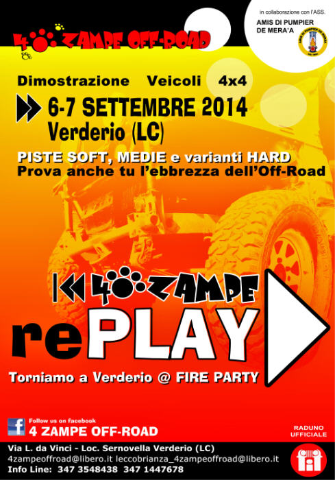4 ZAMPE rePLAY 2014