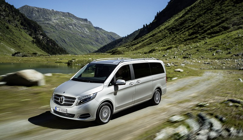 Mercedes V 250 BlueTEC 4MATIC (Parigi 2014)