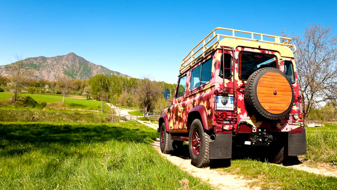 "LAND ROVER DEFENDER ""VINEYARD"""