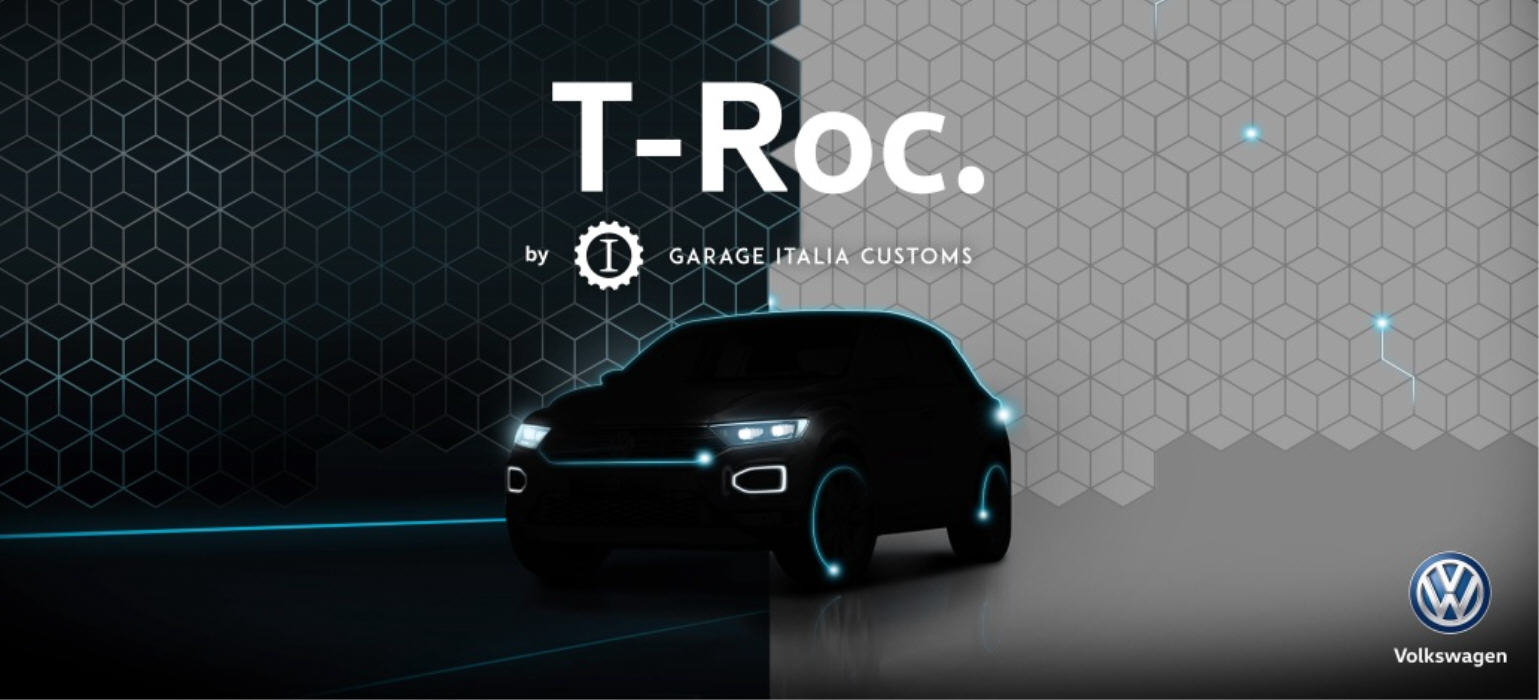 T-Roc,Born confident. Born custom