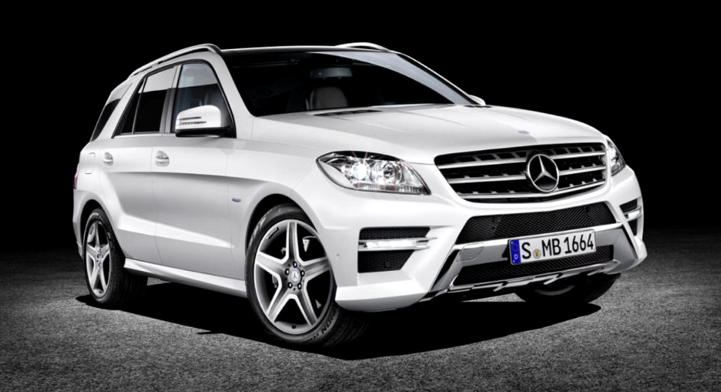 Mercedes-Benz Classe M Model Year 2012