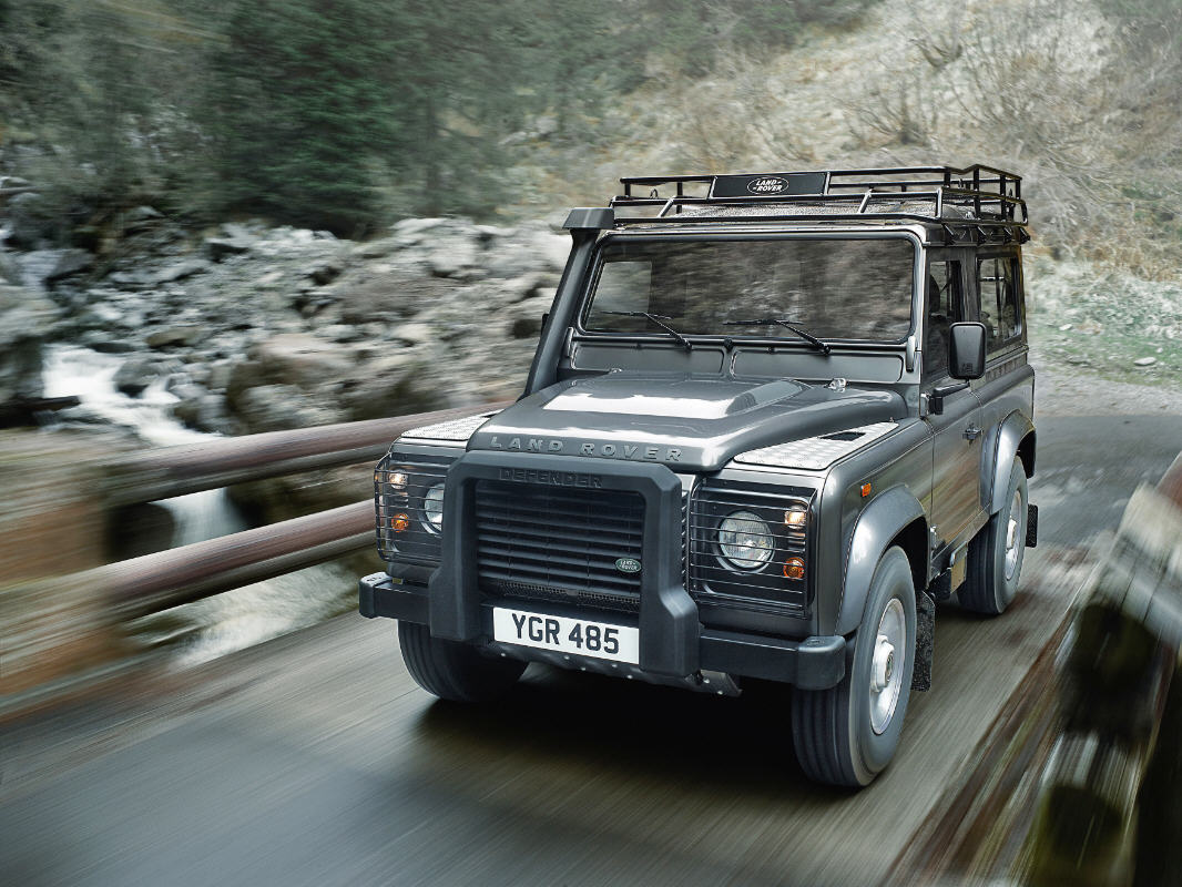 Land Rover Defender Model Year 2012