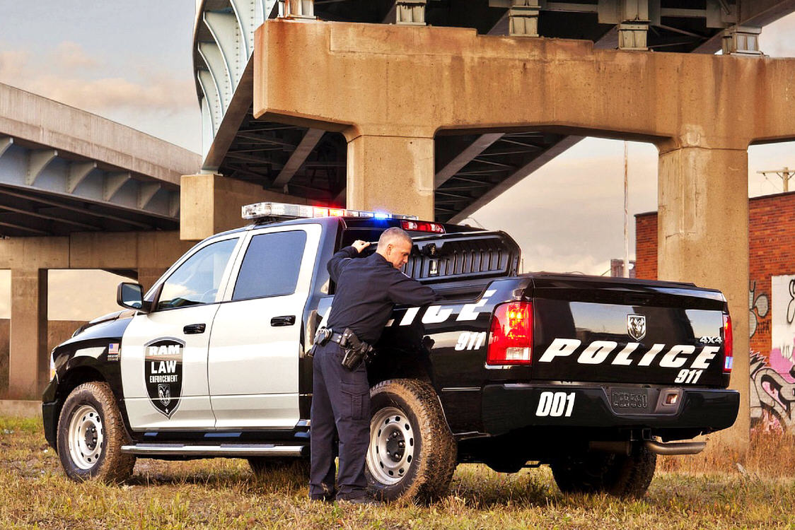 Dodge Ram 1500 Special Services Police Truck
