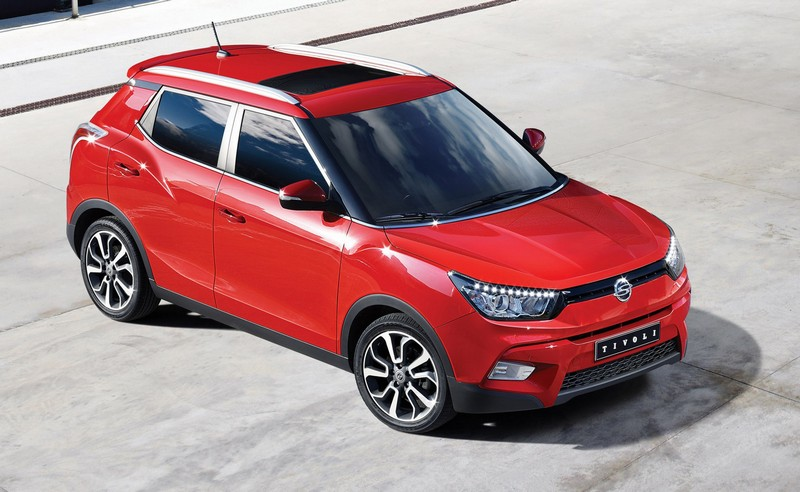 SsangYong Tivoli: In arrivo a Ginevra 2015