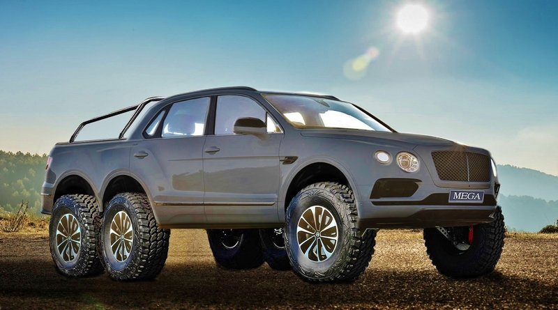 Bentley Bentayga 6X6 by NCE