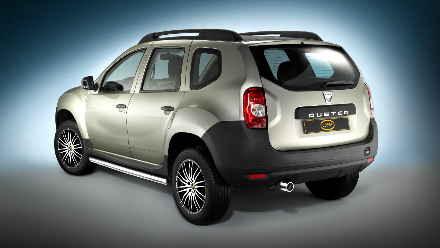 dacia duster 4x4 by cobra technology lifestyle. Black Bedroom Furniture Sets. Home Design Ideas