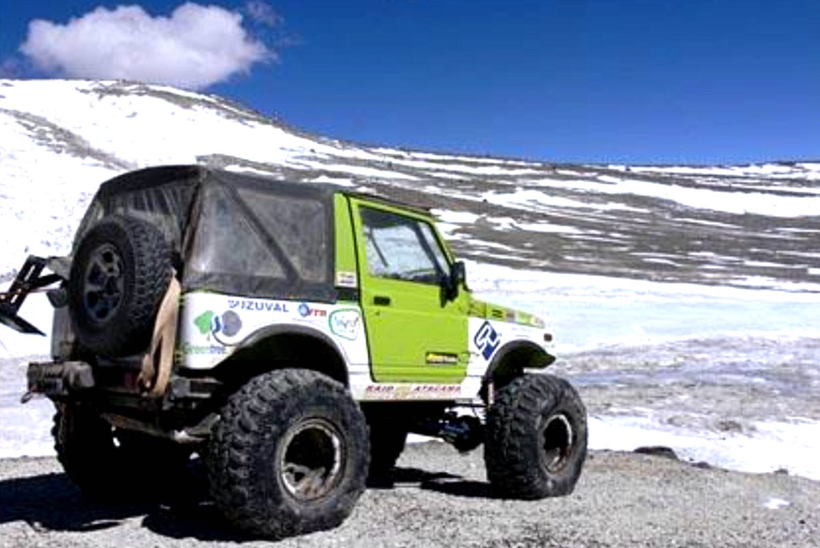 QUOTA 6.688: SUZUKI SAMURAI WORLD RECORD