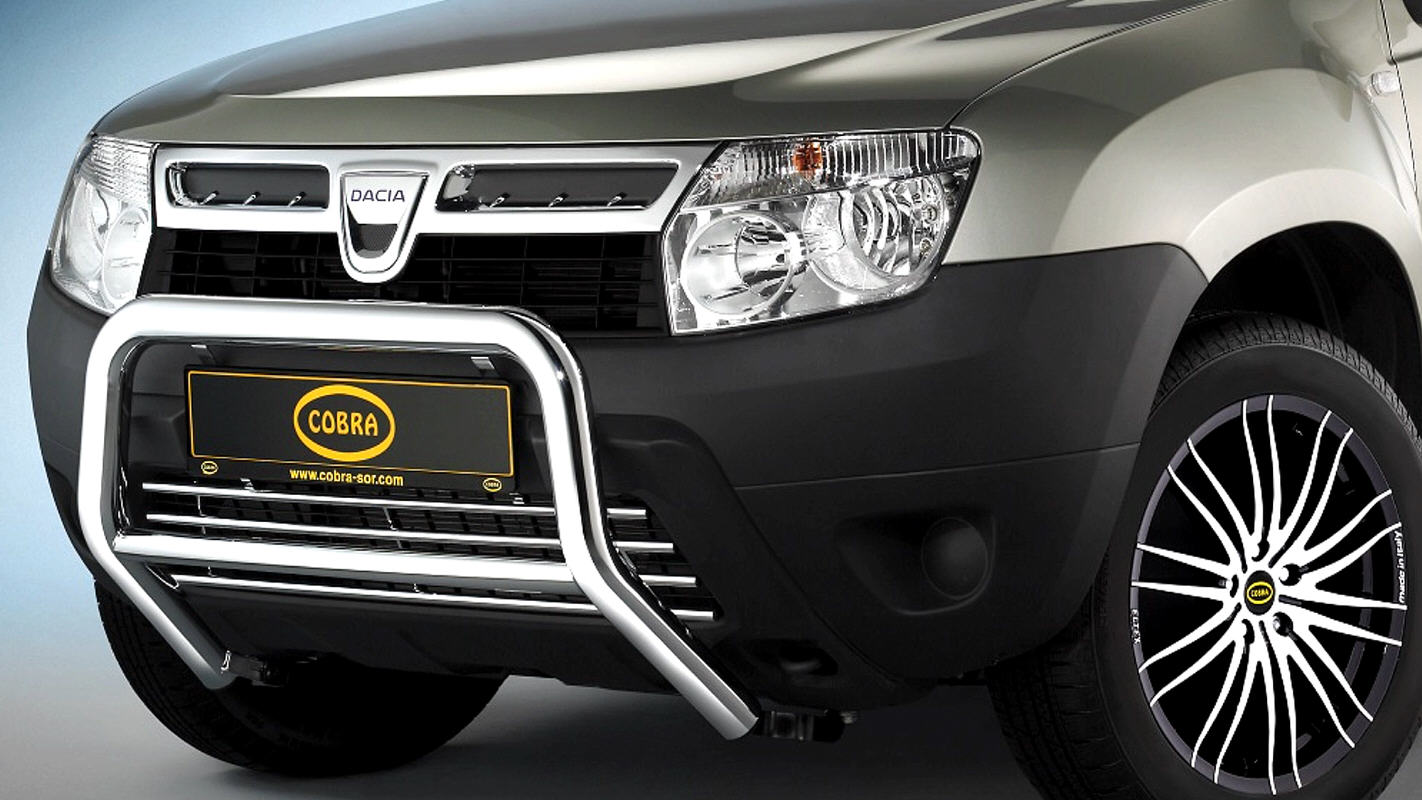 DACIA DUSTER 4x4 by Cobra Technology & Lifestyle