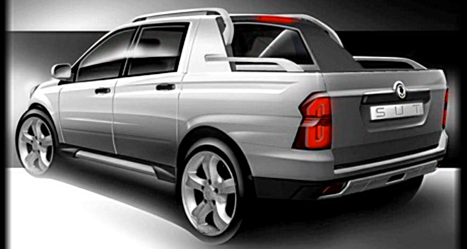 ssangyong pick up sut 1 in passerella a ginevra. Black Bedroom Furniture Sets. Home Design Ideas
