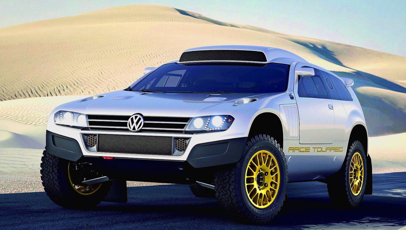 autoruote 4x4 web magazine sulla mobilit 4x4 e sull 39 offroad volkswagen race touareg 3. Black Bedroom Furniture Sets. Home Design Ideas