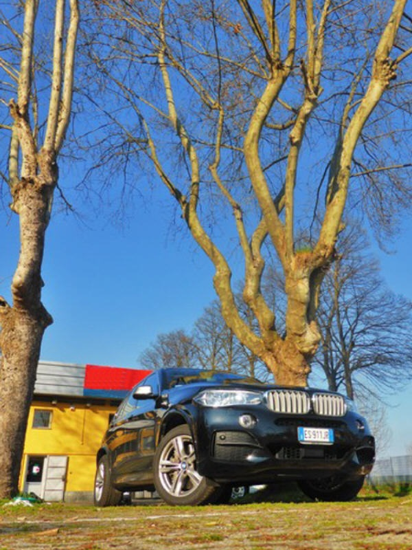 Test Drive: BMW X5 xDrive M50d